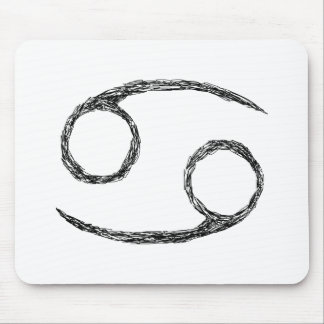 Cancer Zodiac Astrology Sign Mouse Pads