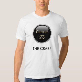Cancer zodiac astrology star sign mens t-shirt