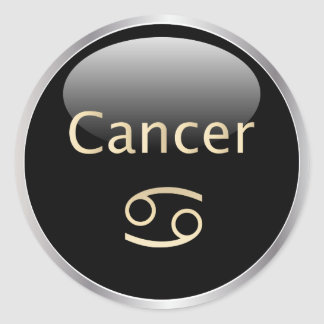 Cancer zodiac astrology,  star sign stickers