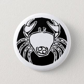 Cancer - Zodiac Badge 2 Inch Round Button
