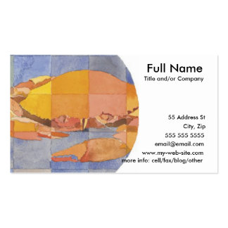 Cancer Zodiac Pack Of Standard Business Cards