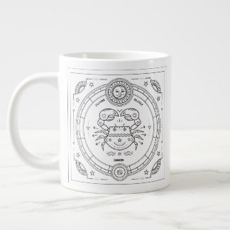 Cancer Zodiac Custom Birthday Mug