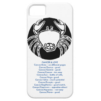 Cancer - Zodiac Phone case