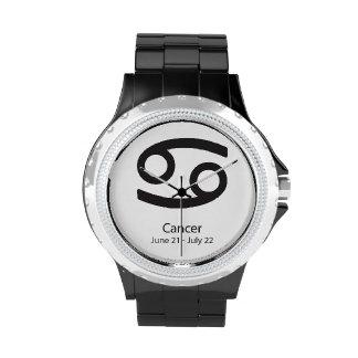 Cancer Zodiac Sign Astrology Wristwatches