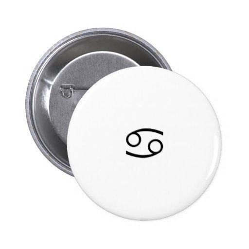 Cancer - Zodiac Sign Pinback Buttons