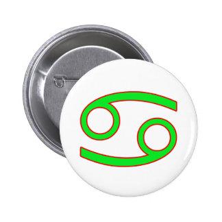 Cancer Zodiac Sign Button