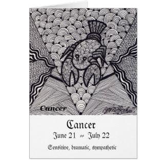 Cancer Zodiac sign Card