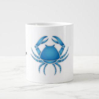 Cancer Zodiac Sign Jumbo Mug