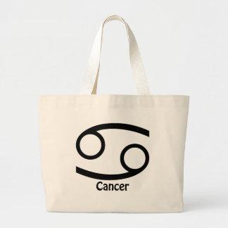 Cancer Zodiac Sign Jumbo Tote Bag