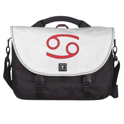 Cancer zodiac sign laptop bag