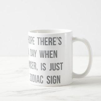 Cancer Zodiac Sign Coffee Mugs