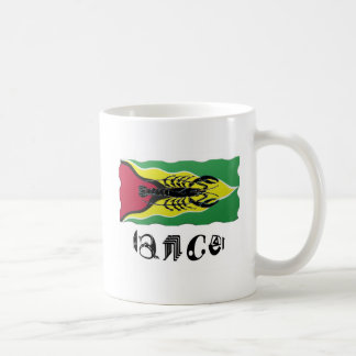 Cancer Zodiac Sign on Guyana Flag Mug