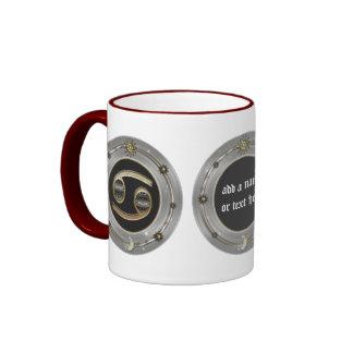 Cancer Zodiac Sign Personalized Mugs