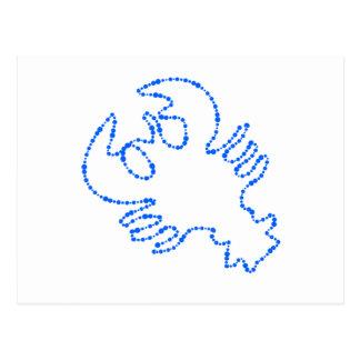 cancer zodiac sign postcard