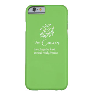 Cancer Zodiac Sign The Crab Green Flash Barely There iPhone 6 Case