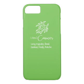 Cancer Zodiac Sign The Crab Green Flash iPhone 7 Case
