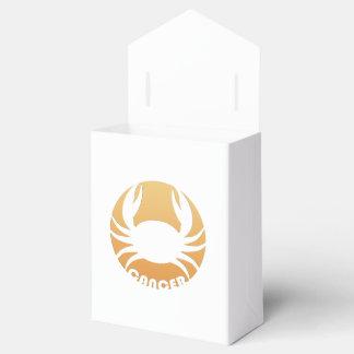 Cancer Zodiac Sign Wedding Favor Box