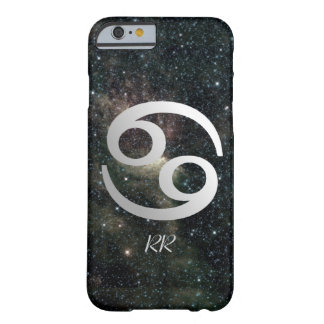 Cancer Zodiac Star Sign on Universe Barely There iPhone 6 Case