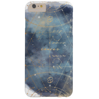 Cancer Zodiac Watercolour Sky Map Phone Case