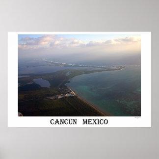 Cancun Caribbean Poster