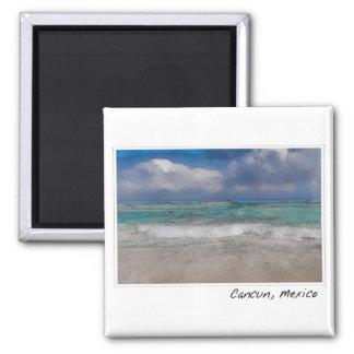 Cancun Mexico Ocean Beach Magnet