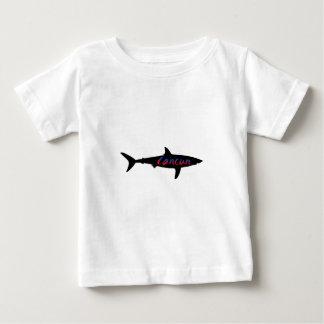Cancun Mexico Shark Baby T-Shirt