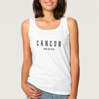 Cancun Mexico Tank Top