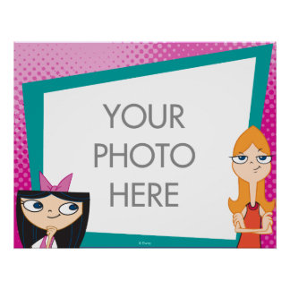 Candace and Isabella Customizable Poster