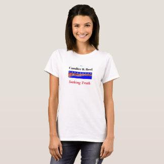 Candace B. Reel Seeking Truth Funny Tee Shirt