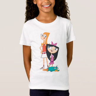 Candace, Isabella, and Agent P T-Shirt
