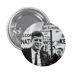 Candidate Kennedy 1 Inch Round Button