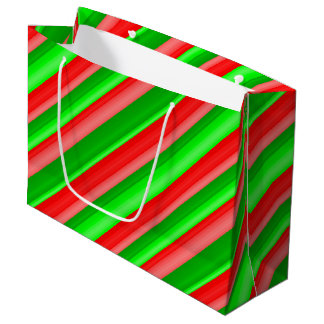 Candied Christmas Large Gift Bag