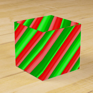 Candied Christmas Wedding Favor Box