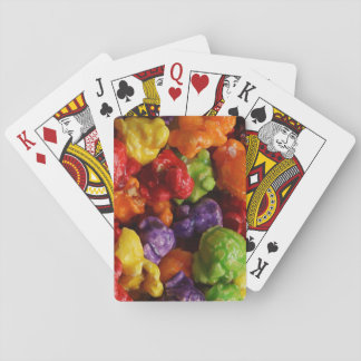 Candied Popcorn Playing Cards