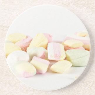 Candies marshmallows coaster