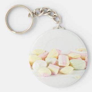 Candies marshmallows keychain