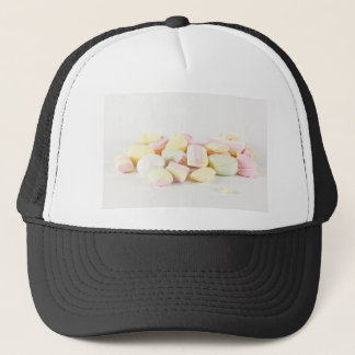 Candies marshmallows trucker hat