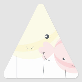 candies triangle sticker