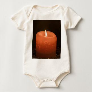 Candle Baby Bodysuit