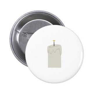 Candle Flame Pinback Buttons