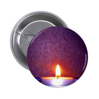 Candle flame pin