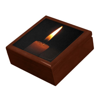 Candle Flame Keepsake Box