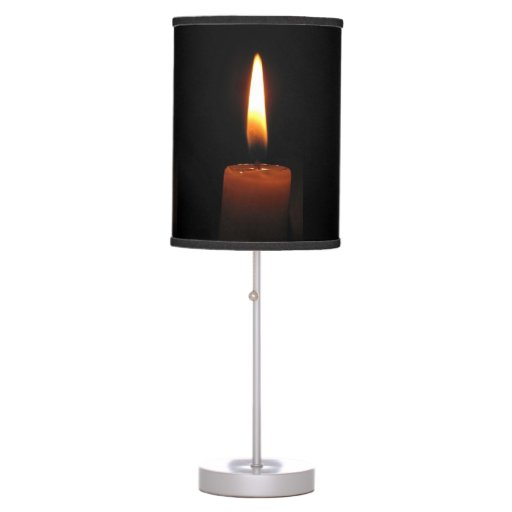Candle Flame Desk Lamp