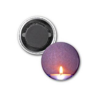 Candle flame magnets