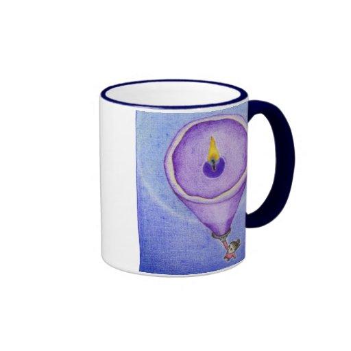 Candle Flame Mug