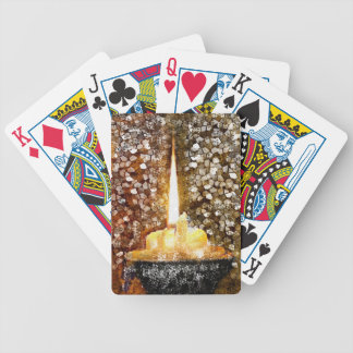 Candle Flame Poker Deck