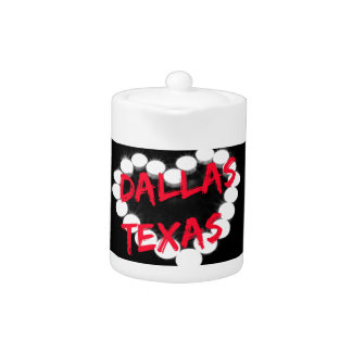 Candle Heart Design For Dallas, Texas