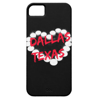 Candle Heart Design For Dallas, Texas Case For The iPhone 5