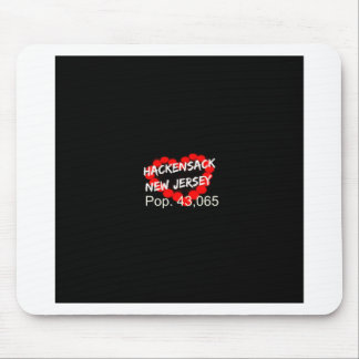 Candle Heart Design For Hackensack, New Jersey Mouse Pad