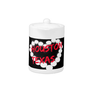 Candle Heart Design For Houston, Texas